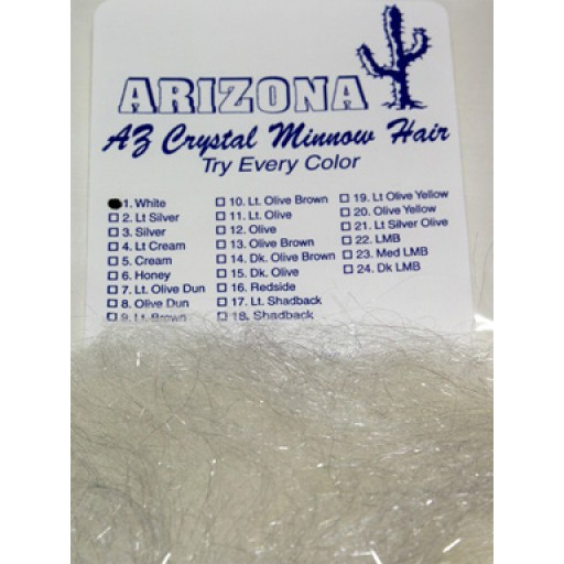 Arizona Crystal Minnow Hair