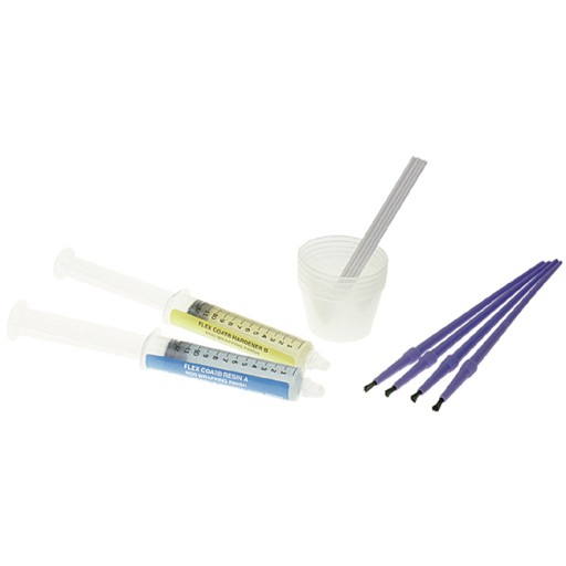 Flex Coat Rod Wrapping Finish Loaded Syringe Kit