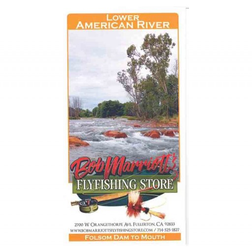LOWER AMERICAN RIVER MAP