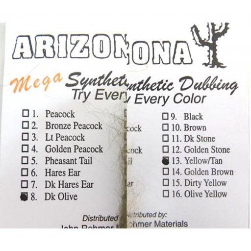 Arizona Mega Synthetic Dubbing