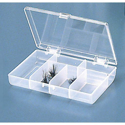 Meiho Clear/Lid 6 Compartment Box