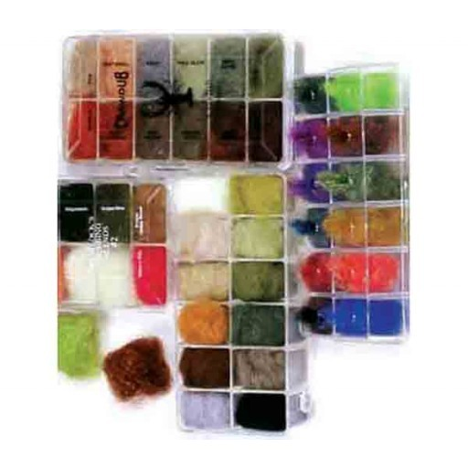 NATURAL FUR 12 COLOR DISPENSER