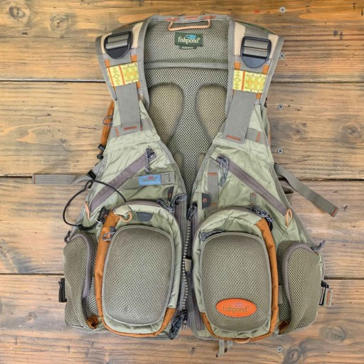 TRADE IN FISHPOND TECH VEST W/ BACKPACK POCKETS