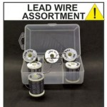 LEAD ROUND WIRE ASSORTMENT