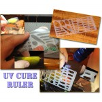 UV Cure Resin Ruler