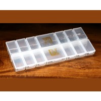 12 SMALL 2 LARGE INDIVIDUAL COMPARTMT BOX