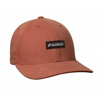6-Panel Logo Hat Rust
