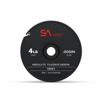 ABSOLUTE FLUOROCARBON TIPPET CLEAR