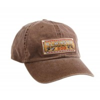 BAMBOO HAT - WASHED BROWN