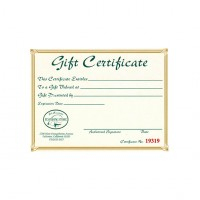 Bob Marriott's Gift Certificates