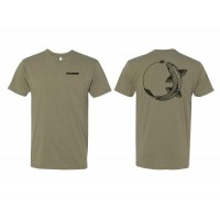 CHASE TEE TROUT LT OLIVE