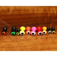 DOUBLE PUPIL BRASS EYES 10pk