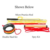 ECHO MICRO PRACTICE ROD DOUBLE HAUL KIT
