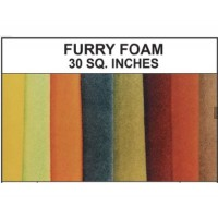 Furry Foam 30 SQ. inches