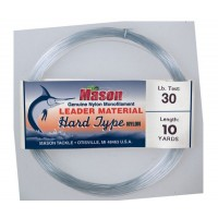 """HARD TYPE NYLON"" Leader Material - 10 yard coils"