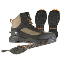 Korkers Greenback Wading Boots Kling-On & Studded Kling-On Boot