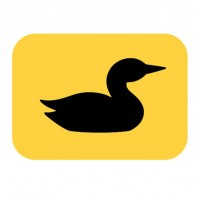 LOON ICON STICKER