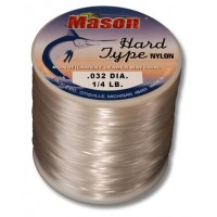 """HARD TYPE NYLON"" Leader Material 1/4lb spool"