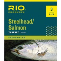 Rio Steelhead/Salmon 9' Leaders (3 Pack)