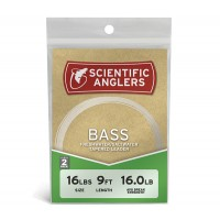 Scientific Anglers Premium Freshwater Leader - Bass (2 Pack)