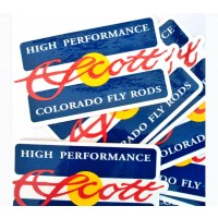 Scott Colorado Flag Decal