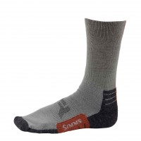 Guide Light Weight Crew Sock - Gunmetal