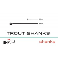 Trout Shanks U-Series 25Ct