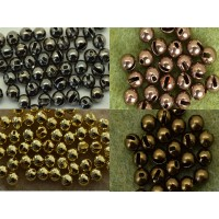 Masu Slotted Tungsten Beads