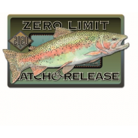 ZERO LIMIT TROUT DECALS