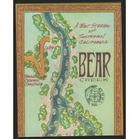 Southern California Map: Bear Creek