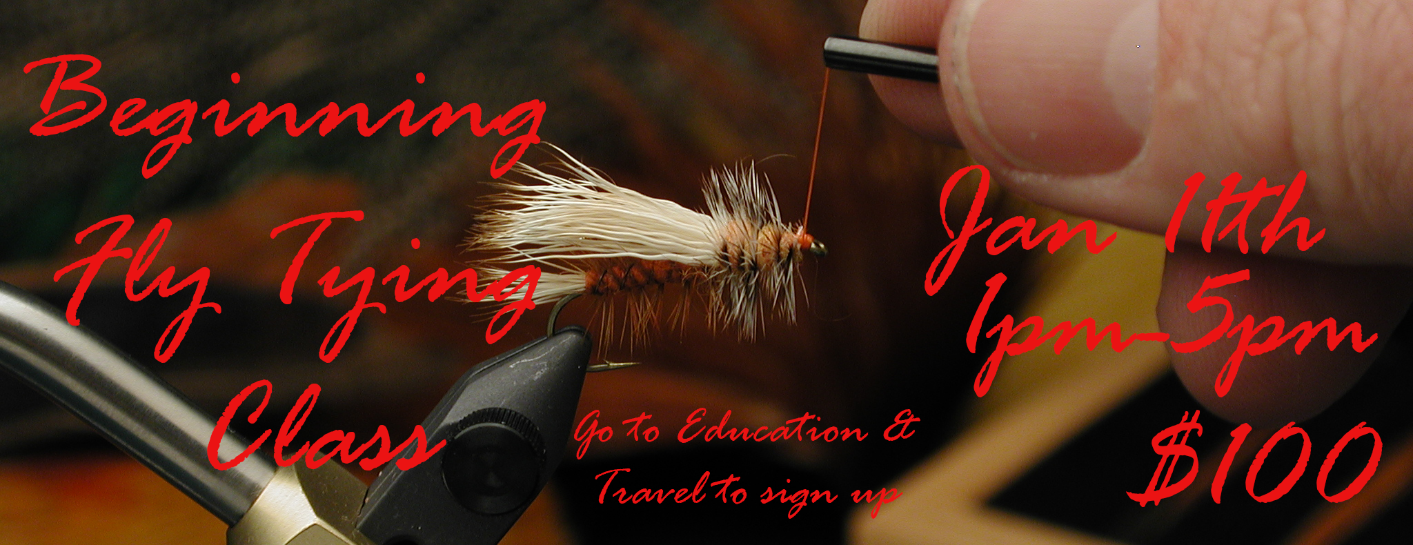 Beginning Fly Tying